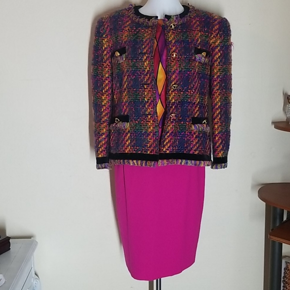 ESCADA BY MARGARETHA LEY 3PC OUTFIT SZ 42